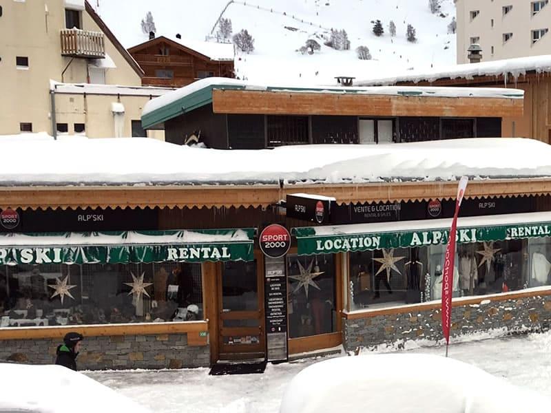 Skiverhuur winkel ALP SKI, 108 avenue de la Muzelle in Les Deux Alpes