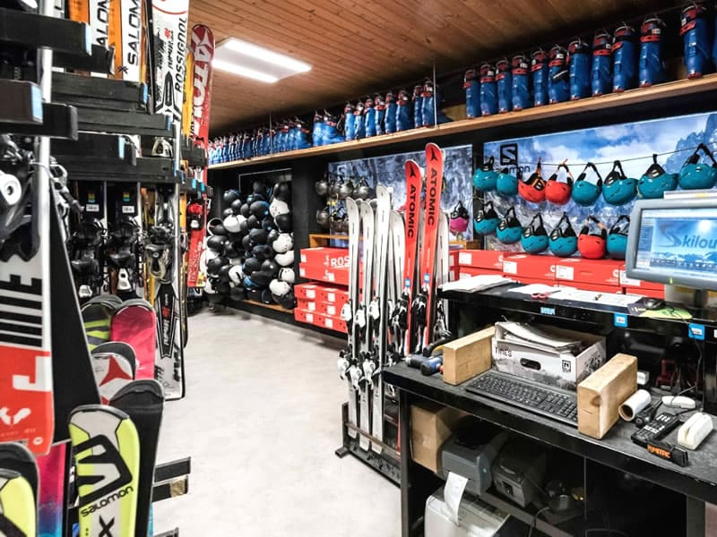 Skiverhuur winkel SPORTS MOUNTAINS, 2 Avenue Emmanuel Brousse in Font Romeu