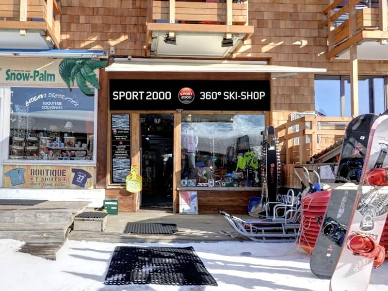Skiverhuur winkel 360 SKISHOP, 33 promenade du Festival in Avoriaz