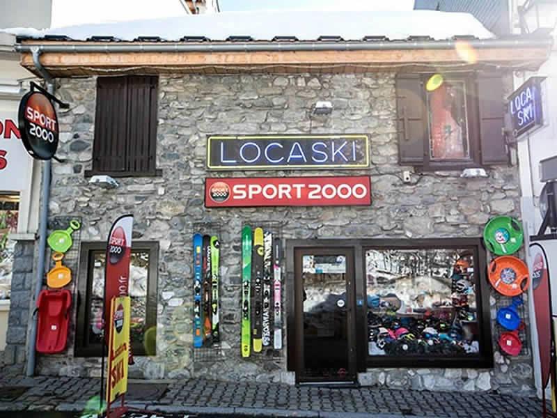 Skiverhuur winkel LOCASKI, 4 Rue Ramon in Bareges