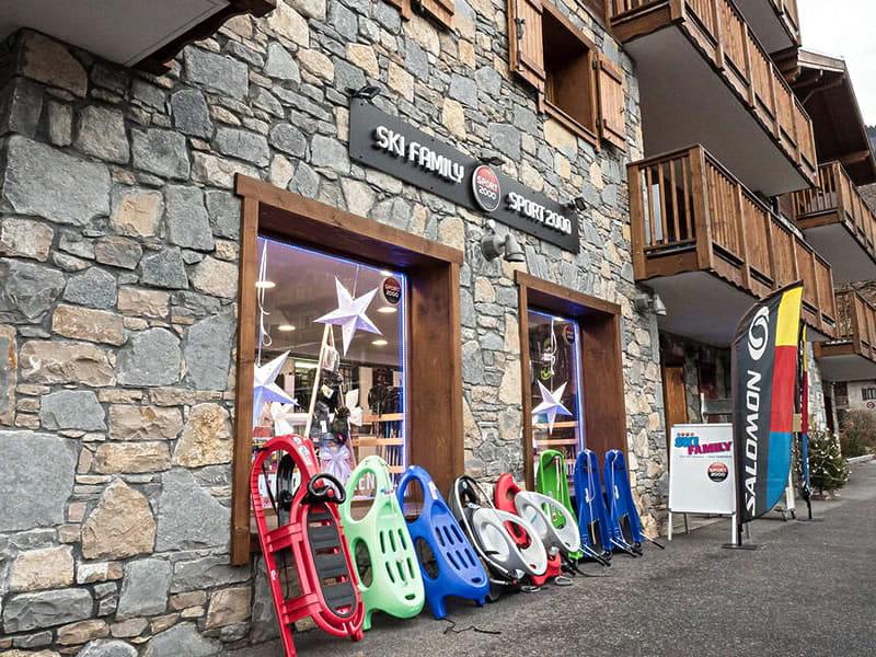 Skiverhuur winkel SKI FAMILY, 58, rue des Glaciers in Samoëns