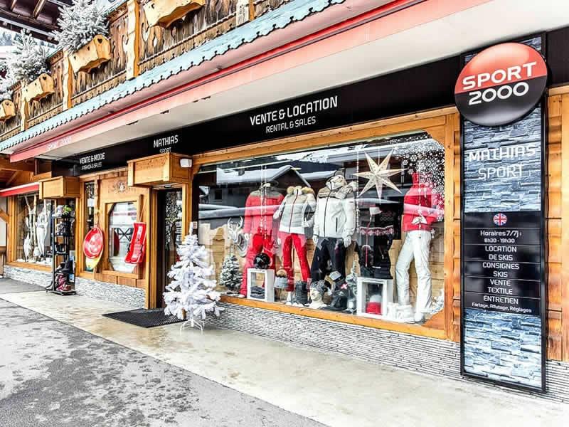 Skiverhuur winkel MATHIAS SPORTS, 60 Taille de Mas du Pleney in Morzine