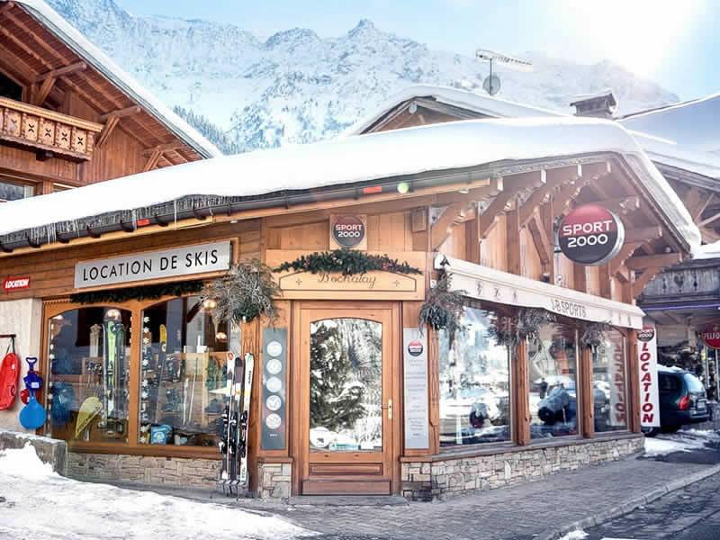 Skiverhuur winkel J.B. SPORTS, 71 route Notre Dame de la Gorge in Les Contamines-Montjoie