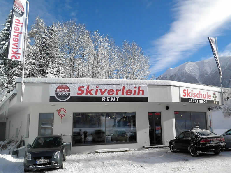 Skiverhuur winkel SPORT 2000 Skiverleih Ötscher, Alte Bahn 1 [Talstation Eibenkogel] in Lackenhof am Ötscher