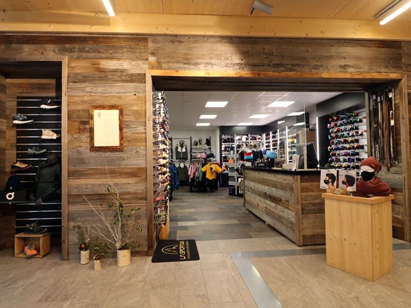 Skiverhuur winkel Gotschna Sport, Alte Bahnhofstrasse 5 in Klosters