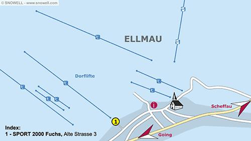 Plattegrond Ellmau