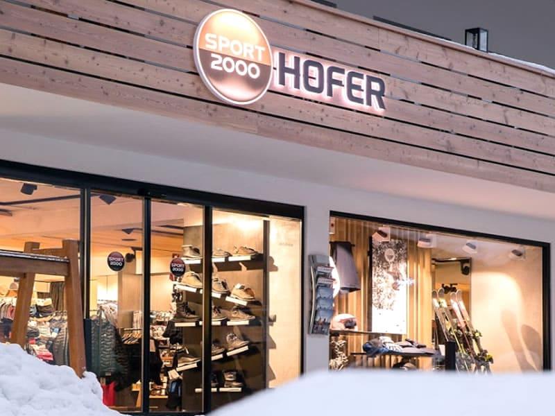 Skiverhuur winkel SPORT 2000 Hofer, Am Dorfplatz 13 in Neustift im Stubaital