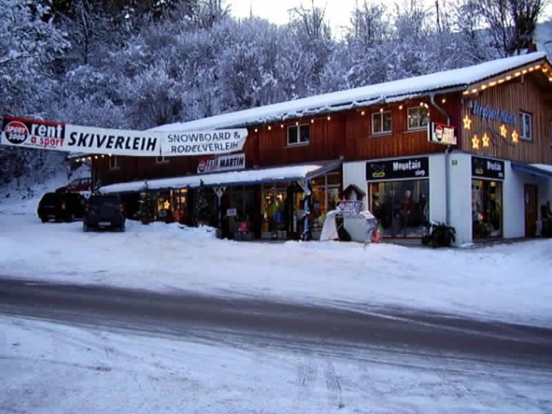 Skiverhuur winkel SPORT 2000 Martin, An der Riese 28 - Nähe Alpspitzbahn in Nesselwang