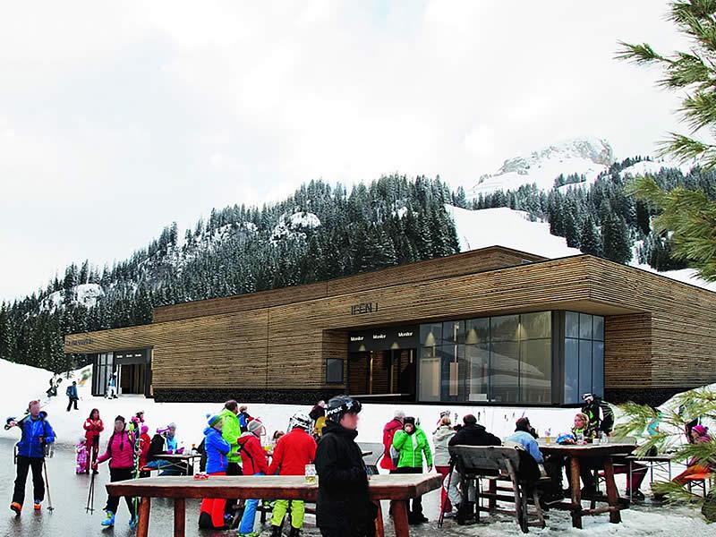 Skiverhuur winkel Sport Pauli Station Ifenbahn, Auenalpe 4 - Talstation Ifenbahn in Kleinwalsertal/Hirschegg