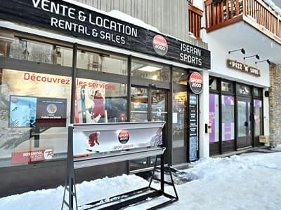 Skiverhuur winkel ISERAN SPORT, Val d Isere in B.P. 49 Les Hameaux