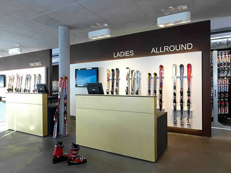Skiverhuur winkel Schiverleih Kurt Hupfauf, Bahnstrasse 7 in Fulpmes