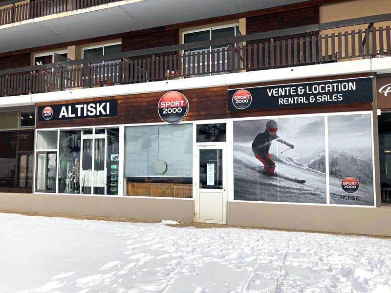 Skiverhuur winkel ALTISKI Aurouze, Batiment du Bois d'Aurouze in Superdévoluy