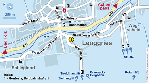 Plattegrond Lenggries