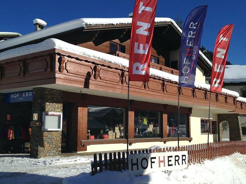 Skiverhuur winkel Hofherr Sport, Berwang 46 in Berwang