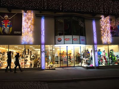 Skiverhuur winkel SPORT 2000 Etz, Kitzbühel in Bichlstrasse 7