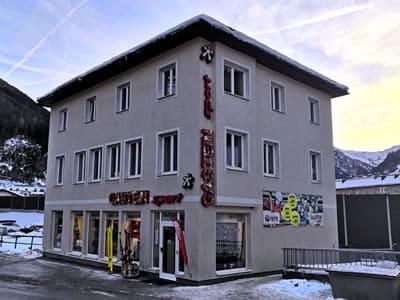 Skiverhuur winkel Gastein Sport, Bad Gastein in Böcksteiner Bundesstrasse 2