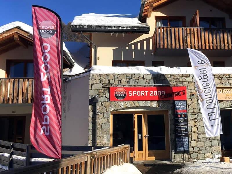 Skiverhuur winkel EJ SNOW & LIFE, Bois Méan - Place Rippert - station 1800 in Les Orres