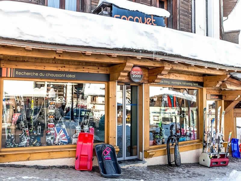 Skiverhuur winkel ANOUK SOCQUET SPORTS, Carrefour de Rochebrune in Megève