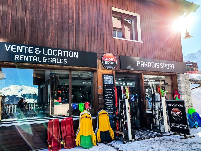 Skiverhuur winkel PARADIS SPORT, Centre Commercial de Vallandry in Peisey Vallandry