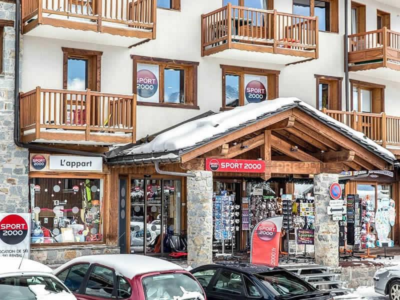Skiverhuur winkel L'APPART, Centre Commercial La Rosière in La Rosiere