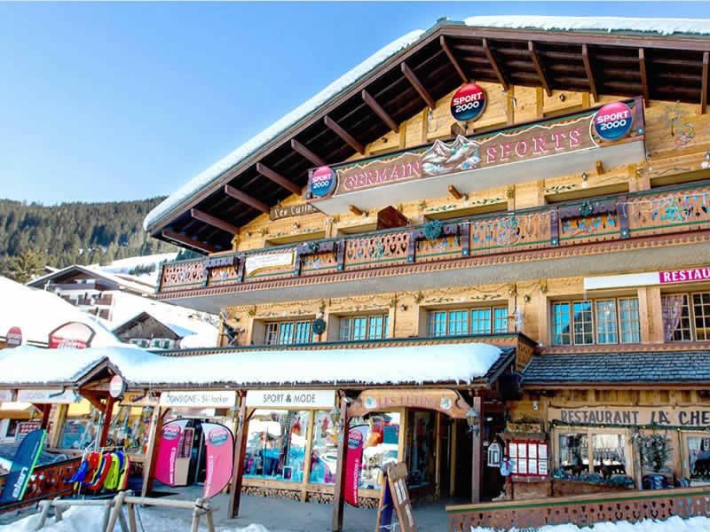 Skiverhuur winkel GERMAIN SPORTS, Centre Station - 19 Chemin de sous le Crêt in Chatel