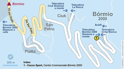 Plattegrond Bormio 2000-Valdisotto