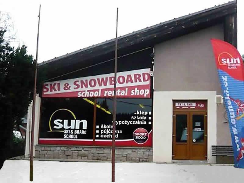 Skiverhuur winkel Sun Ski, Cerný Dul 102 in Cerny Dul