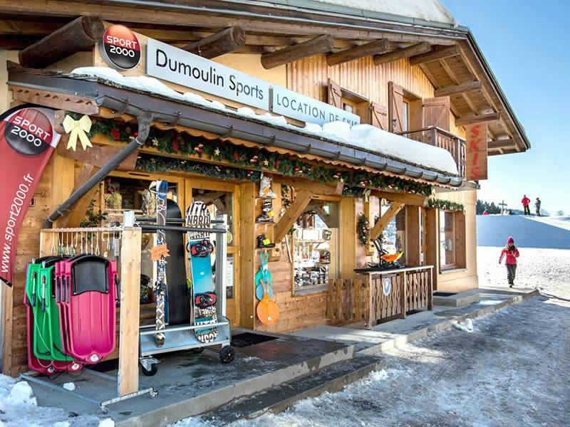 Skiverhuur winkel DUMOULIN SPORTS, Chef Lieu in Crest-Voland