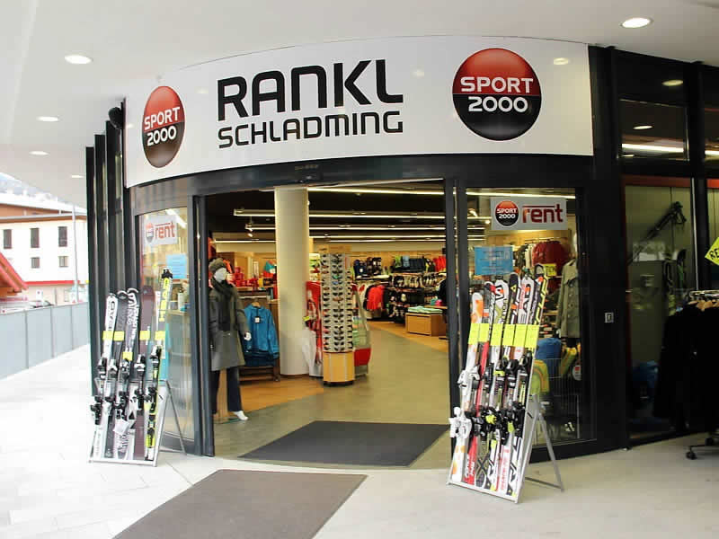 Skiverhuur winkel SPORT 2000 Rankl, Coburgstraße 53 [Planai Talstation] in Schladming