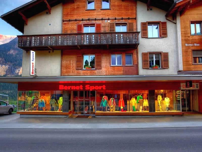Skiverhuur winkel Bernet Sport, Dorfstrasse 128 in Grindelwald