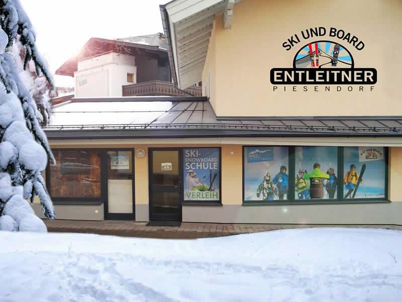 Skiverhuur winkel Ski und Board Entleitner, Dorfstrasse 166 in Piesendorf