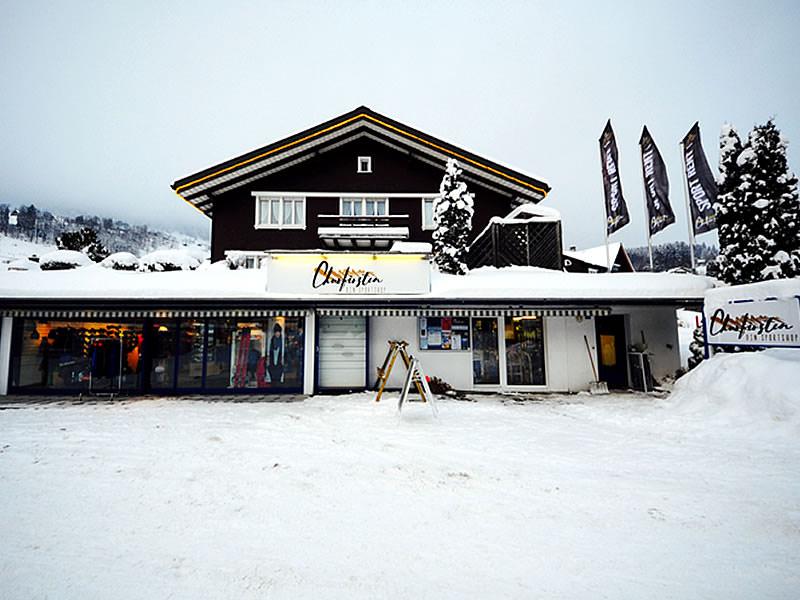 Skiverhuur winkel Churfirsten Sport, Dorfstrasse 27 in Unterwasser