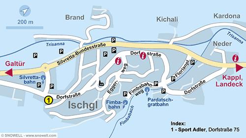 Plattegrond Ischgl