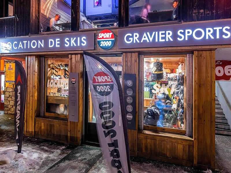 Skiverhuur winkel GRAVIER SPORT, Etoile des neiges in La Foux d'Allos