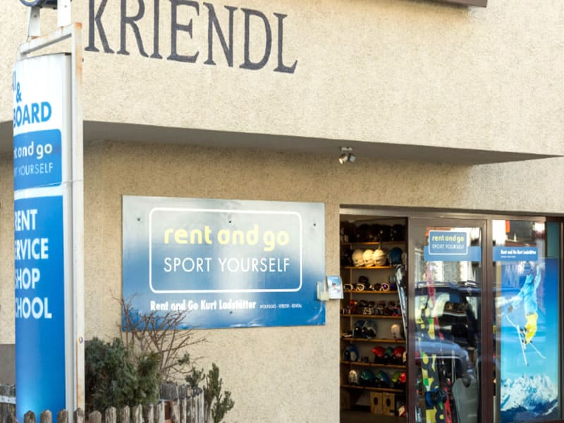 Skiverhuur winkel Rent and go, Florianiplatz 15/B in Olang