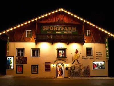 Skiverhuur winkel Sportfarm, Neustift im Stubaital in Franz-Senn-Strasse 87 [Ortsteil Milders]