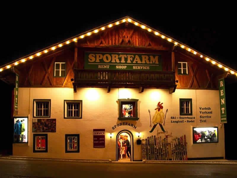 Skiverhuur winkel Sportfarm, Franz-Senn-Strasse 87 [Ortsteil Milders] in Neustift im Stubaital