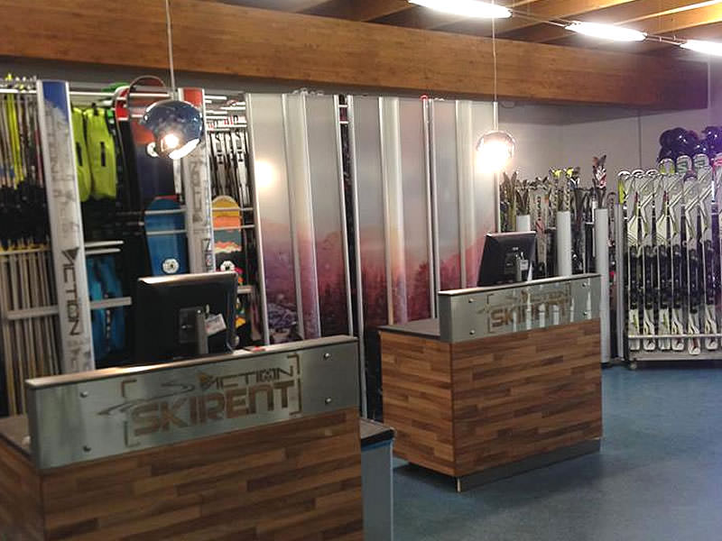 Skiverhuur winkel Action Ski Rent, Frazione Sansicario Res. 23 in Cesana Torinese - San Sicario