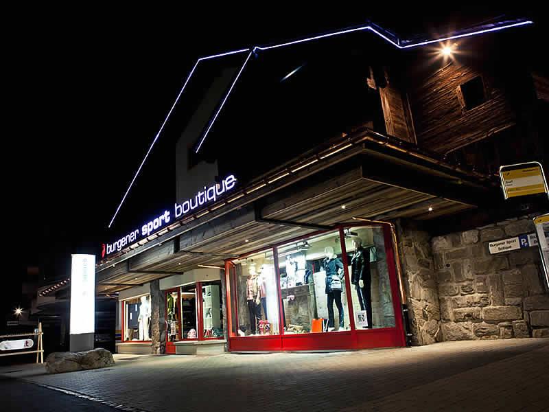 Skiverhuur winkel Burgener Sport AG, Furkastrasse 9 in Fiesch