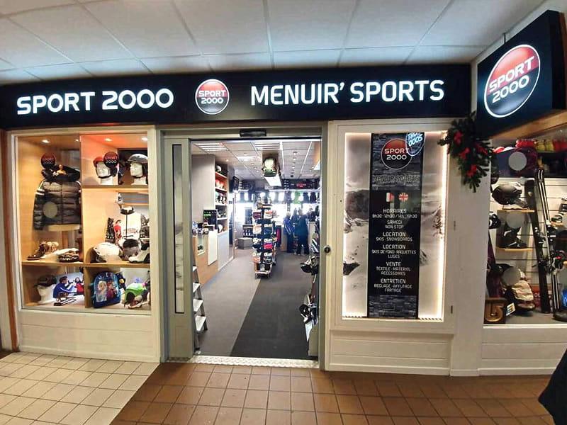Skiverhuur winkel MENUIR' SPORTS, Galerie Commerciale de l'Adret La Croisette in Les Menuires
