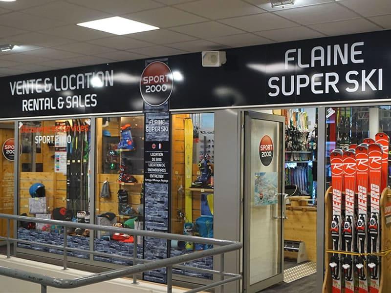 Skiverhuur winkel FLAINE SUPER SKI, Galerie Marchande - Flaine Forêt in Flaine