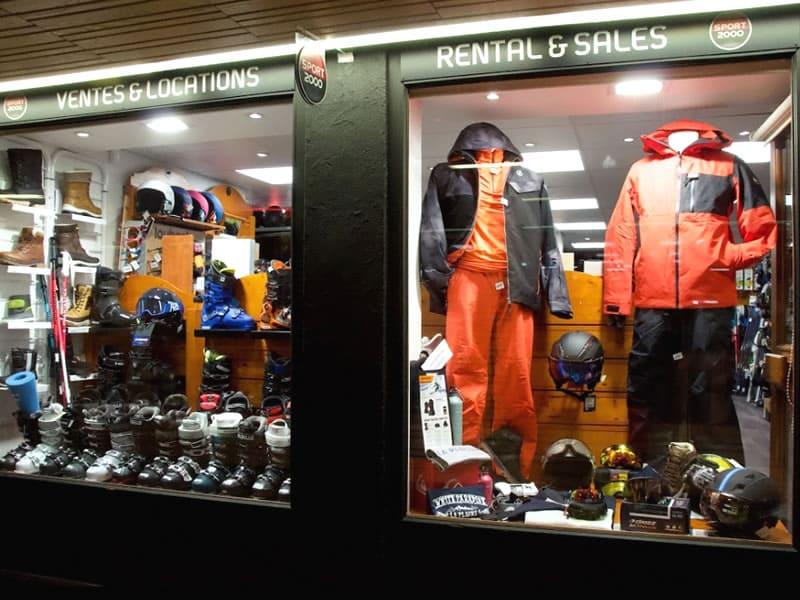 Skiverhuur winkel ROBINO 3R, Galerie Mercure in La Plagne - Centre