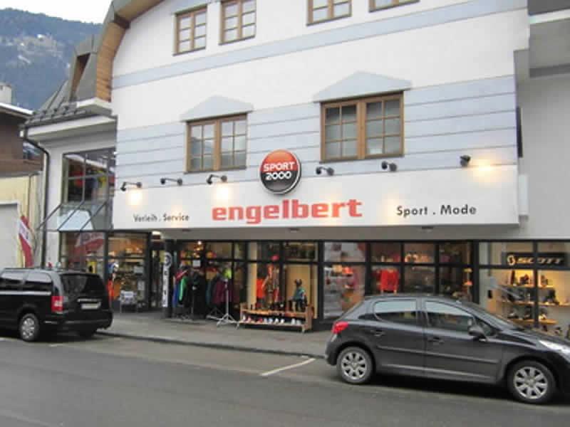 Skiverhuur winkel SPORT 2000 Engelbert, Zell am Ziller in Gerlosstraße 3