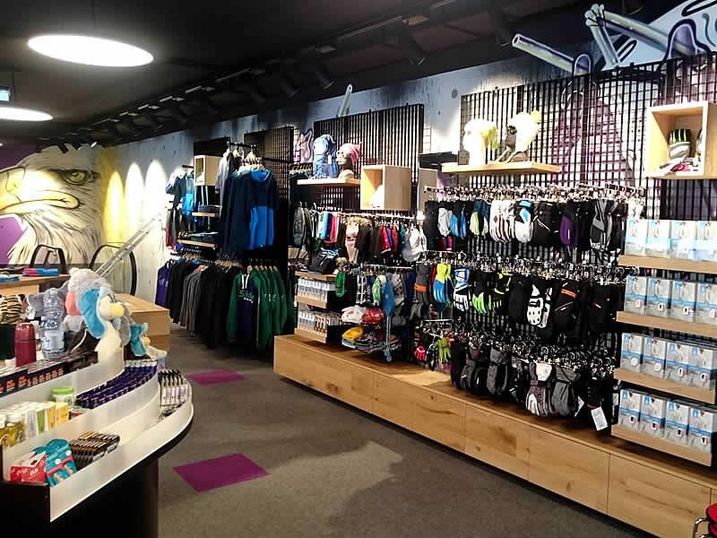 Skiverhuur winkel Sport-Shop, Giggijochbahn Bergstation in Sölden