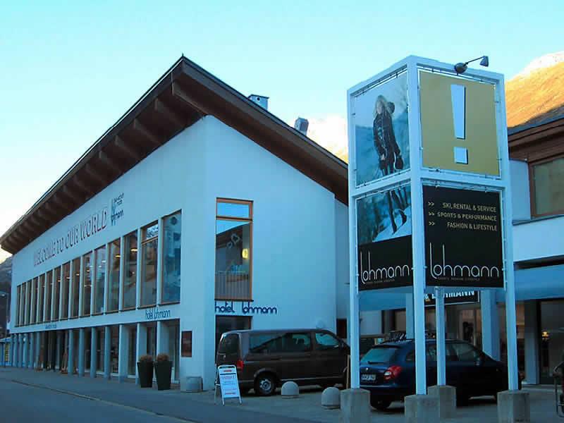 Skiverhuur winkel Sport Lohmann - NOT SNOWBORED, Gurglerstrasse 108 in Obergurgl