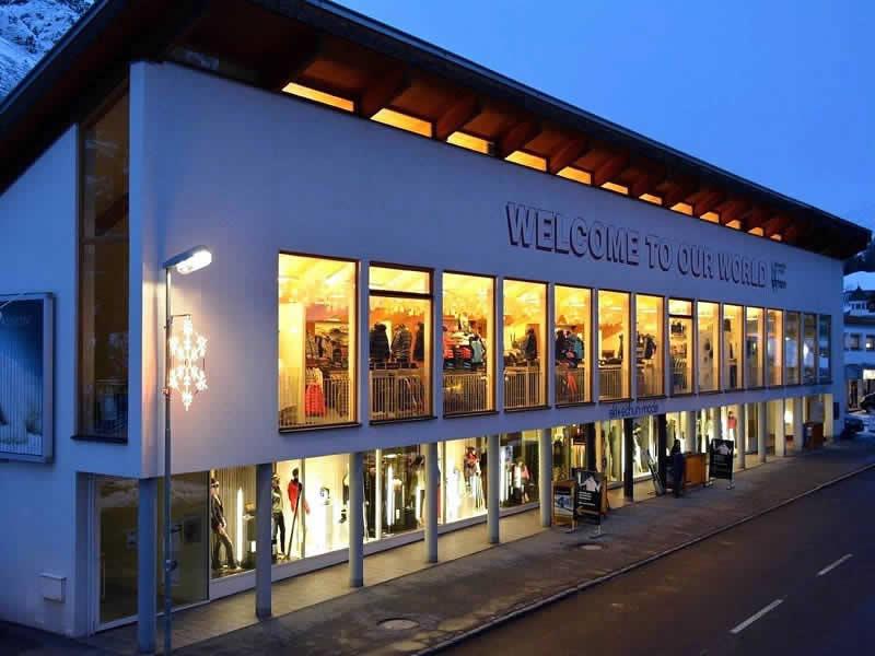 Skiverhuur winkel Sport Lohmann, Gurglerstrasse 108 in Obergurgl