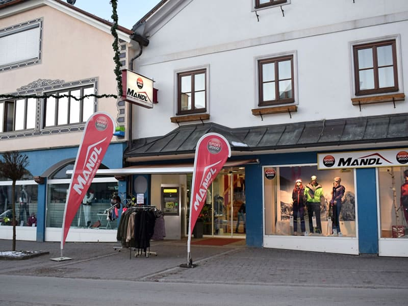 Skiverhuur winkel SPORT 2000 Mandl, Hauptplatz 59 in Gröbming