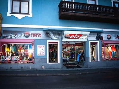 Skiverhuur winkel SPORT 2000 Etz, Kirchberg i. Tirol in Hauptstraße 2