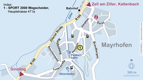 Plattegrond Mayrhofen