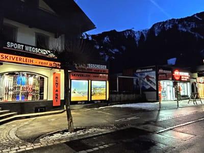 Skiverhuur winkel SPORT 2000 Wegscheider, Mayrhofen in Hauptstrasse 471a